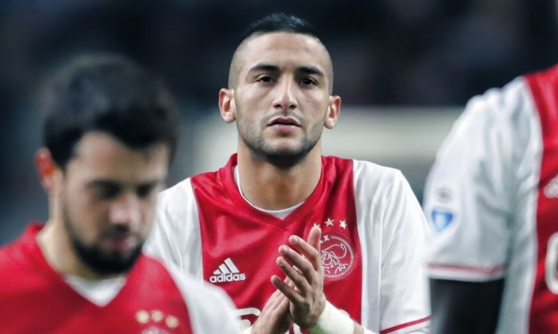 2. Hakim Ziyech (Ajax): 8 doelpunten, 11 assists