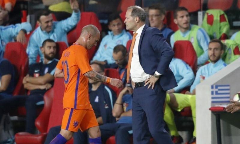 Reserverol na Sneijder-gesprek