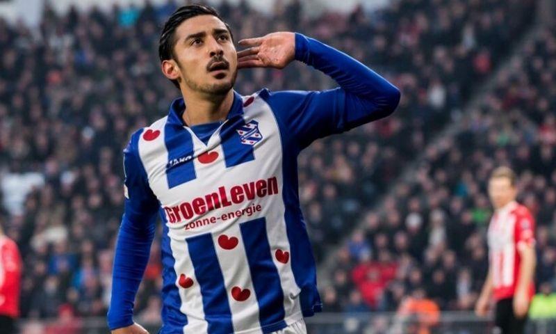 7. Reza Ghoochannejhad (sc Heerenveen): 15 doelpunten, 2 assists