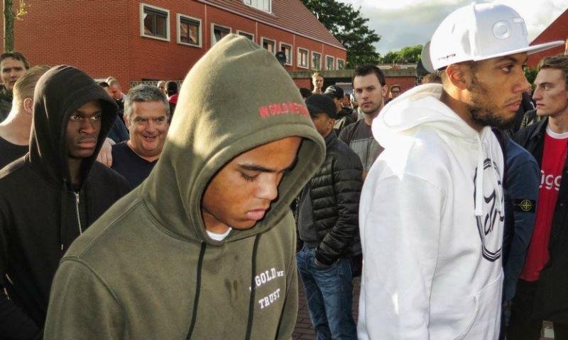 Ajax-spelers ook aanwezig