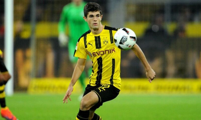 9. Christian Pulisic (Borussia Dortmund)