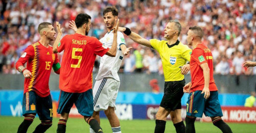 3. Spanje – Rusland (8ste finale)