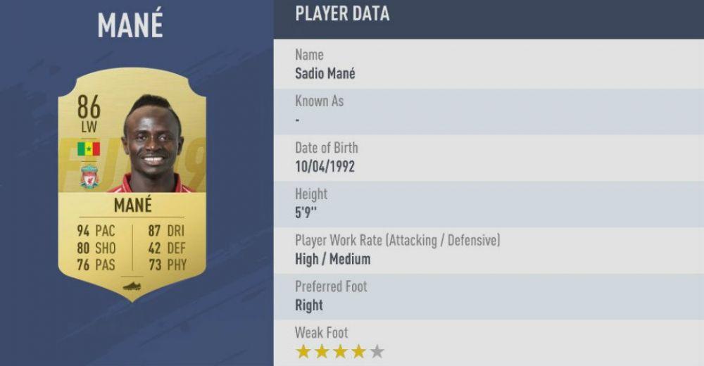 10. Sadio Mané