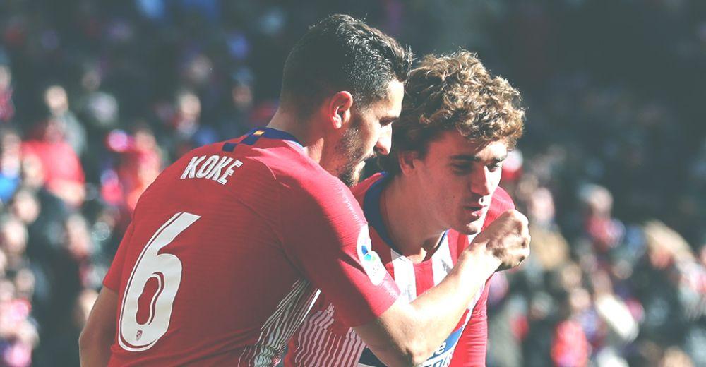 4. Atlético Madrid  – €955 miljoen