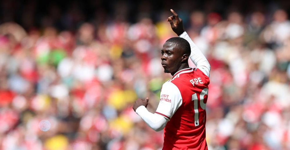 6. Nicolas Pépé - Arsenal