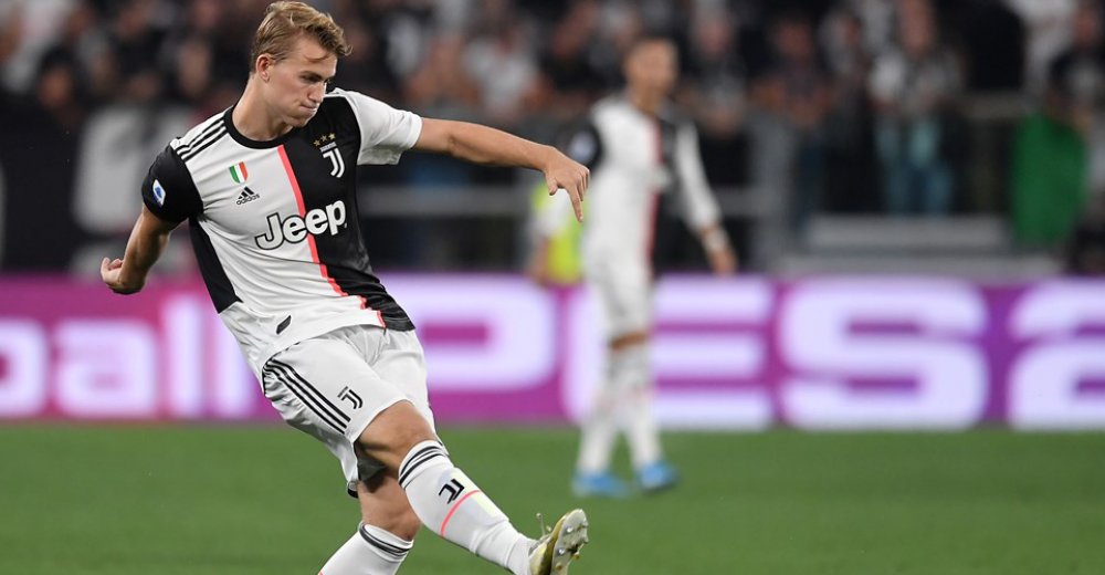 7. Matthijs de Ligt - Juventus