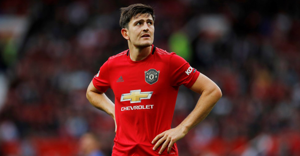 4. Harry Maguire - Manchester United