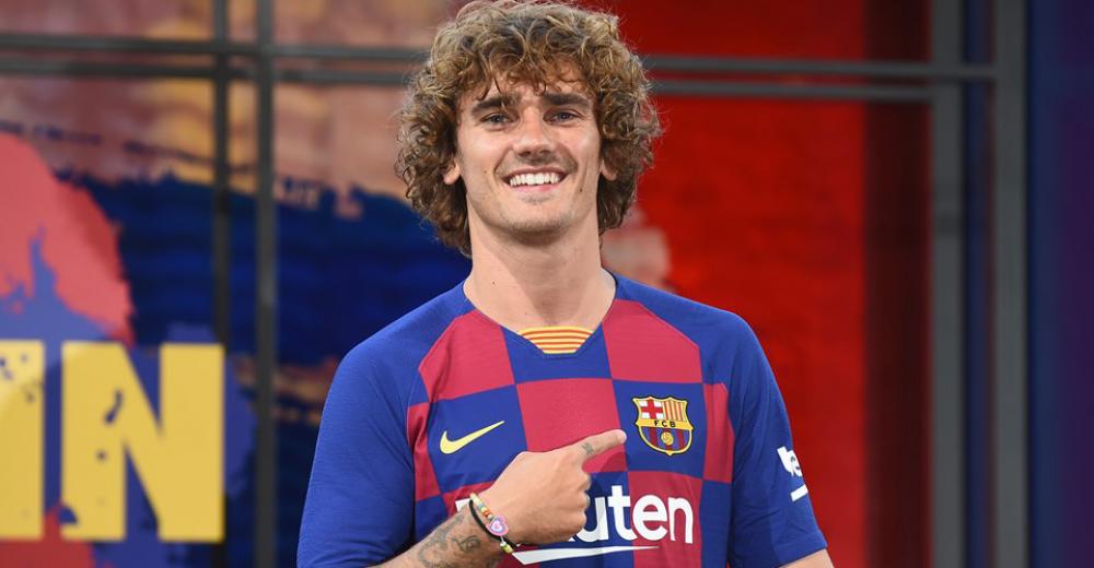 2. Antoine Griezmann - FC Barcelona