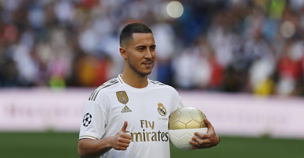 3. Eden Hazard - Real Madrid