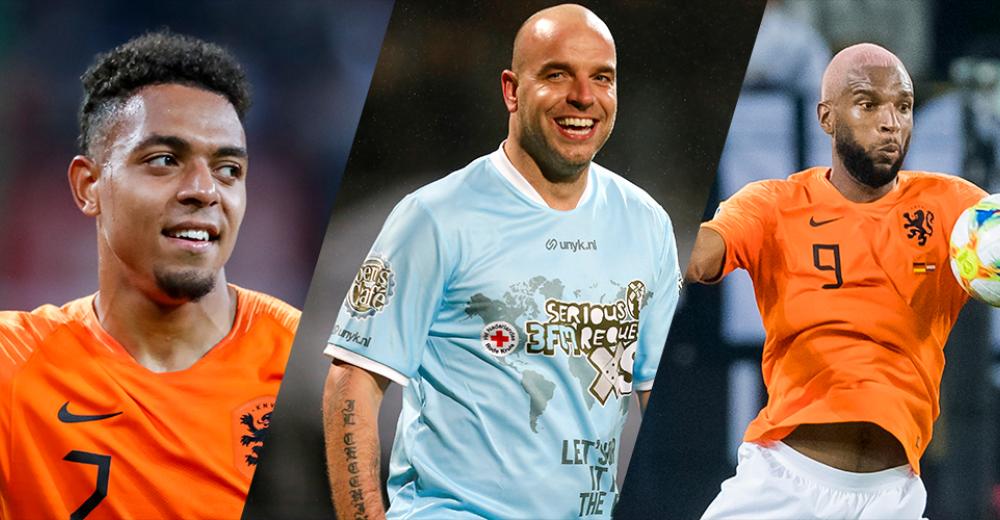 De zeven scorende Oranje-debutanten in deze eeuw