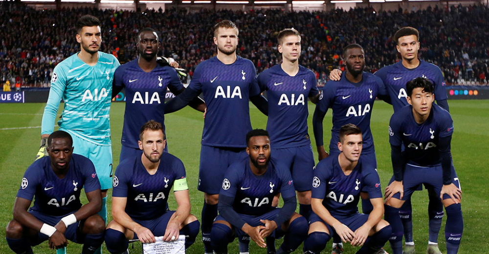 Tottenham (985 miljoen)