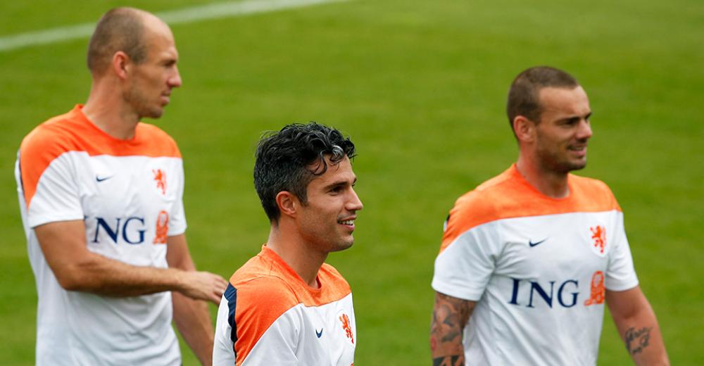 Afscheid van drie Oranje-iconen: Van Persie, Sneijder, Robben