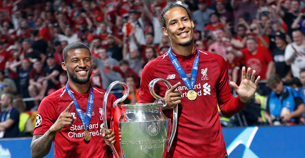 Van Dijk en Wijnaldum winnen de Champions League met Liverpool
