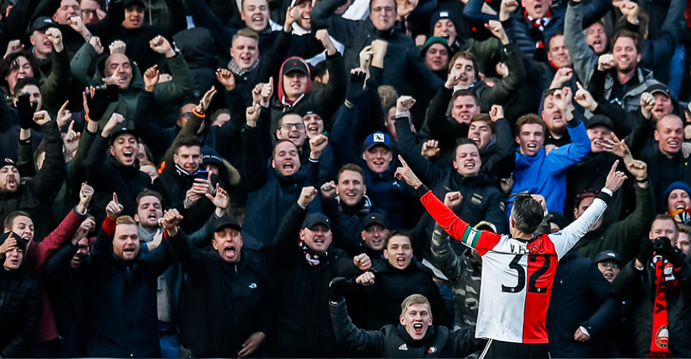 Feyenoord vernedert Ajax in De Kuip: 6-2