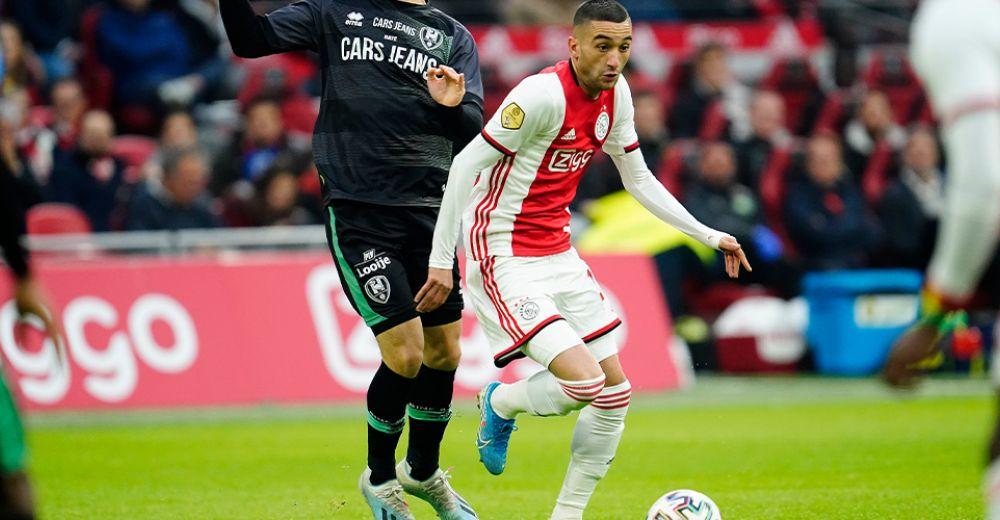 Aantal assists voor Ajax: 82