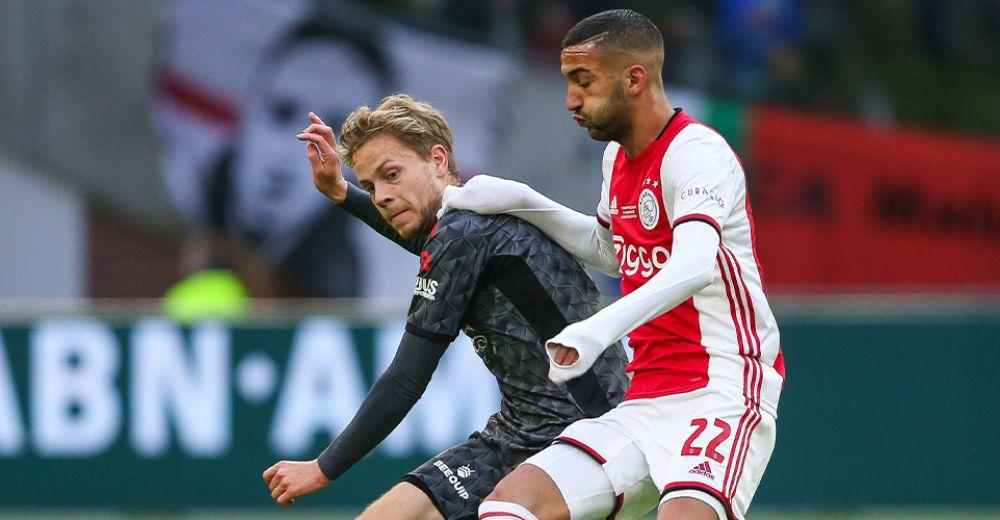 Aantal kansen gecreëerd voor Ajax: 354