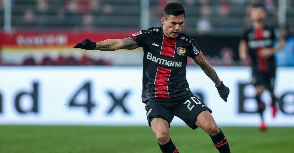 Charles Aránguiz (Bayer Leverkusen, 12 miljoen)