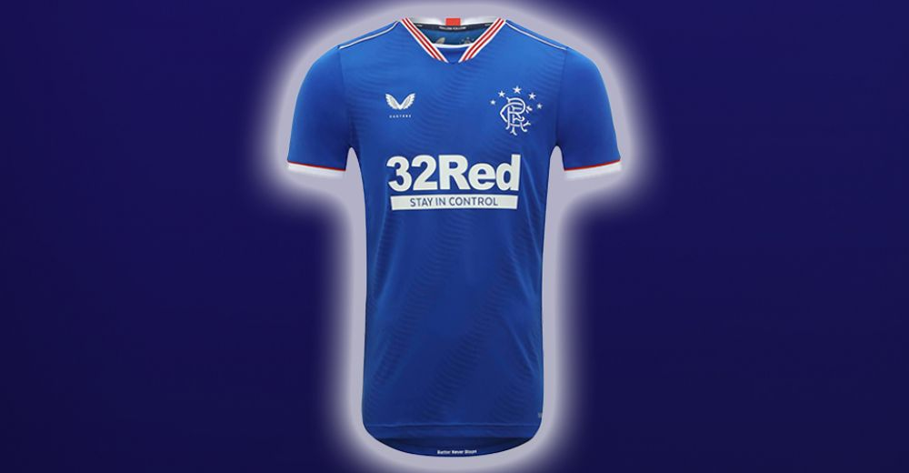 Rangers FC - thuisshirt