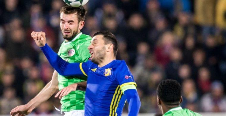 LIVE: PSV loopt Europa League-ticket definitief mis door gelijkspel