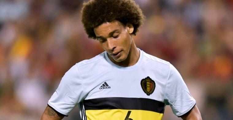 Witsel ziet geen probleem: Ik zal blijven spelen voor de nationale ploeg