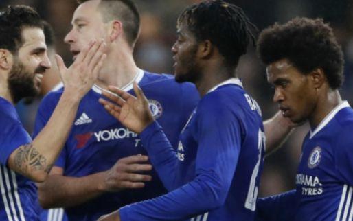 Afbeelding: Tien man van Chelsea zetten Engelse derdedivisionist met speels gemak weg