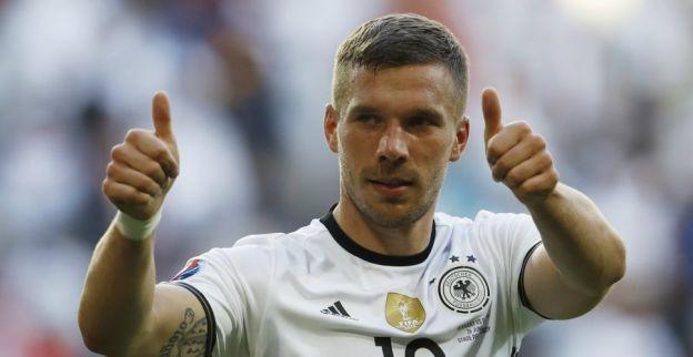 Update: Podolski 'weet helemaal niets' van naderende China-move