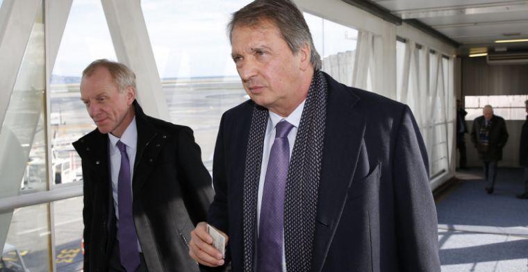 Voer voor speculatie: 'Van Holsbeeck gespot met makelaarsduo van ex-Rode Duivel'