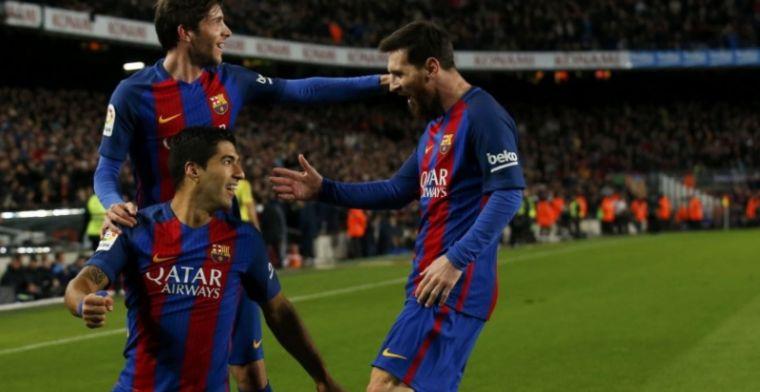 'MSN' aan het kanon, Barcelona zet scheve situatie recht