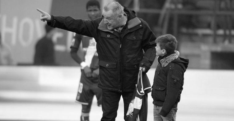 Ook Club Brugge aangedaan door overlijden van Swat Van der Elst