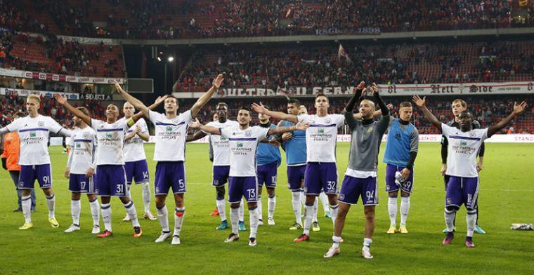 'Anderlecht in de aanval, paars-wit richt vizier op speler van Standard'