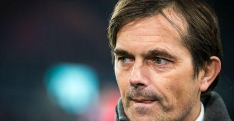 Cocu streng voor PSV: Dan hebben we gefaald. Met z'n allen