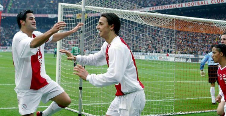 Zlatan sloeg en kreeg tik terug in chaos bij Ajax: 'Volgende dag aanvoerder'