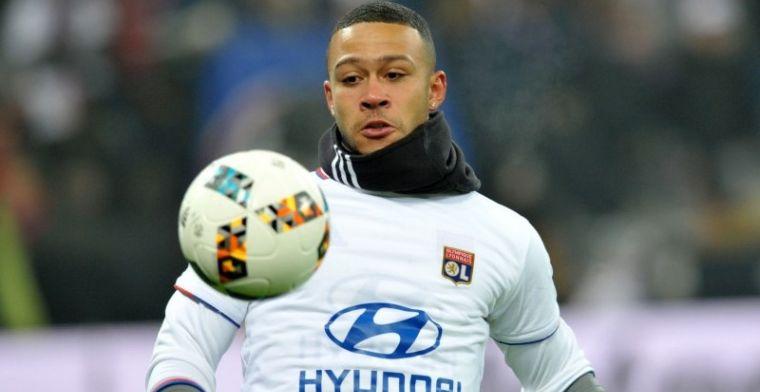 Memphis maakt debuut voor Lyon tijdens vitale zege op Marseille