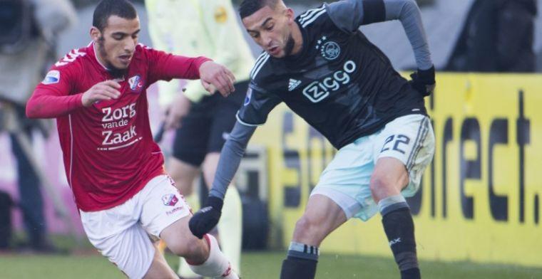 Bosz denkt weer aan andere positie Ziyech: 'Daar heel dun in onze spelers'