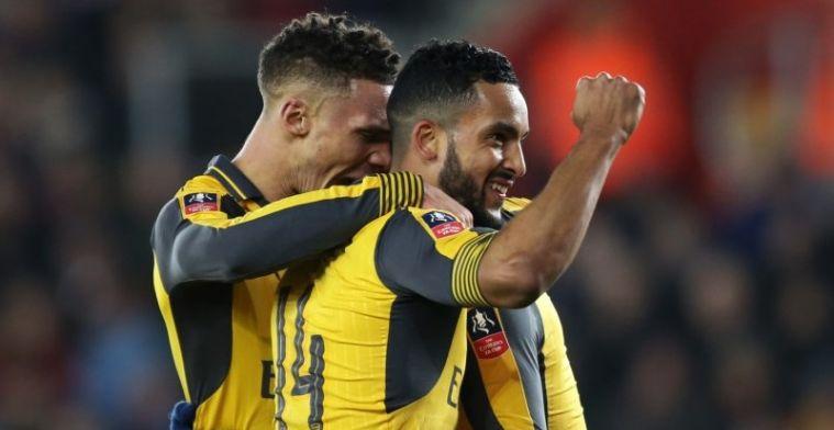B-garnituur van Arsenal haalt in FA Cup keihard uit tegen Southampton
