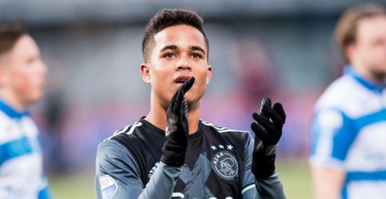 """Kluivert arriveert voor zoon bij Ajax-duel: """"Had eerder ..."""