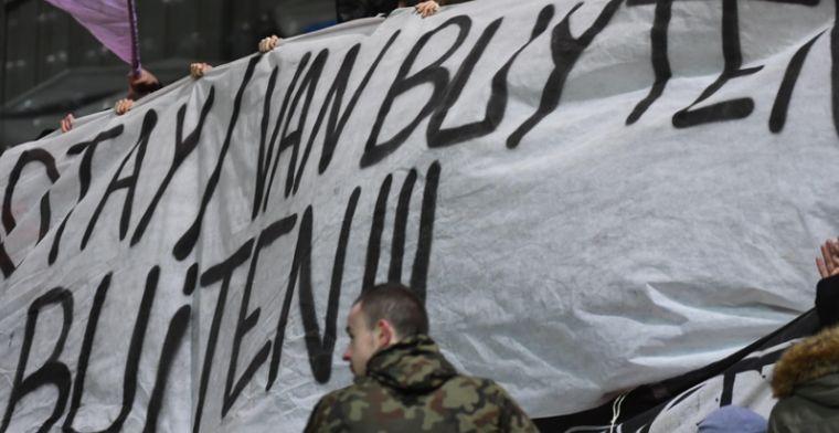 Standard-supporters schreeuwen om ontslag: 'Van Buyten en Henrotay buiten!'