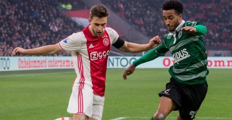 Bizarre actie Veltman is wereldnieuws: 'Het is zeer triest gesteld met Ajax'