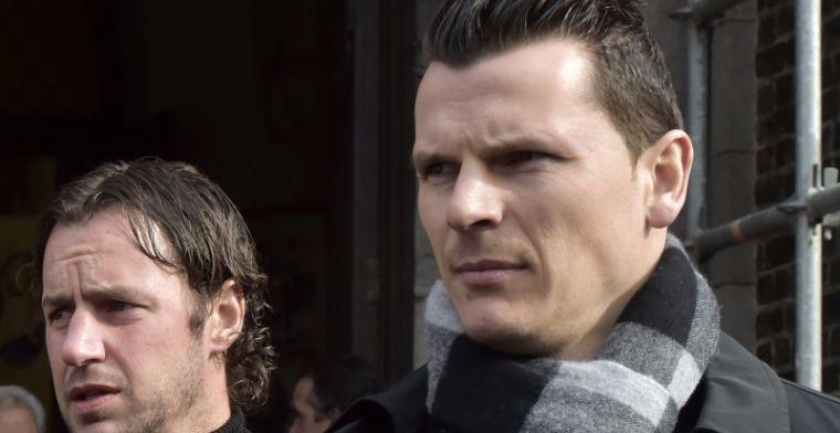 Daniel Van Buyten is op bezoek bij Bayern samen met ... Herman Van Holsbeeck