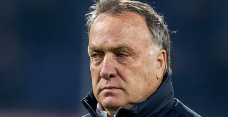 Advocaat witheet na Europa League-domper: 'Totaal niet tevreden'