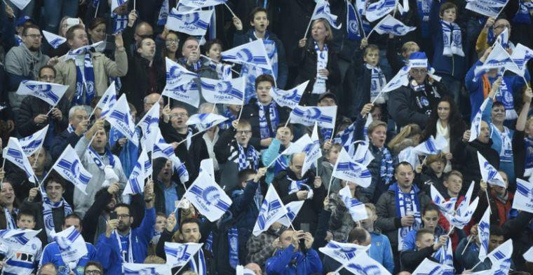 'Man Utd en Leicester City trekken naar Gent, veel belangstelling van scouts'