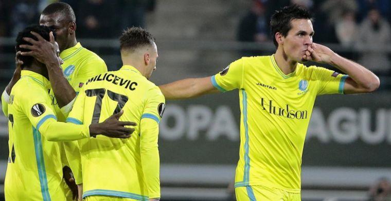 AA Gent wint supporters terug met Europese stuntzege