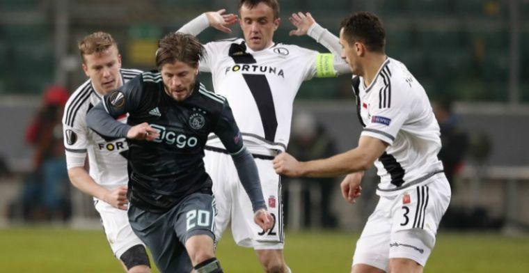 Schöne ziet Ajax benadeeld worden: 'Maar die werd niet gezien'