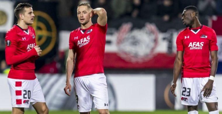 AZ doet zichzelf tekort met harde Europa League-nederlaag tegen sluw Lyon