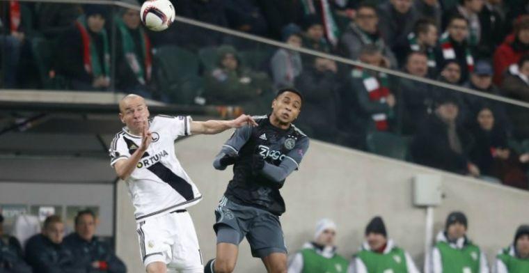 Tiental Ajax stelt teleur met doelpuntloos gelijkspel in Polen