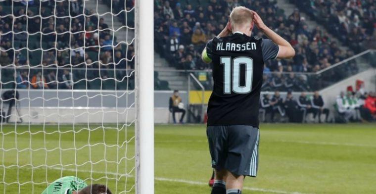 Klaassen bijt op zijn lip: Zolang de UEFA er niks doet, blijft het gebeuren