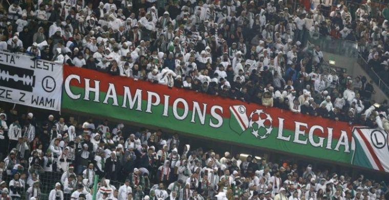 'Vrees Ajax-fans komt uit: Legia-hooligans vallen Amsterdamse fans aan'