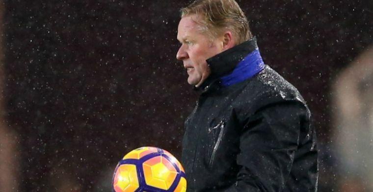 Everton-fan populair op Twitter: 'Ik ben er zeker van dat Koeman een kater heeft'