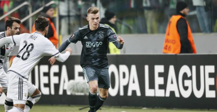 Mogelijk personele problemen voor Ajax: enkelklachten nekken verdediger