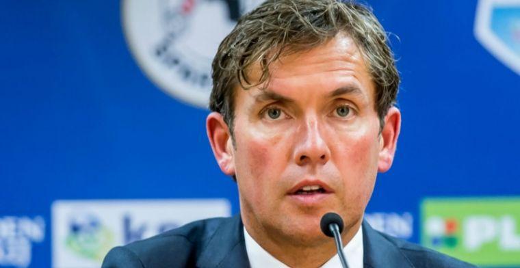 'Nieuw' trainersontslag bij Sparta niet gevreesd: 'Ik praat niet alles goed'